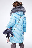 Детская зимняя куртка пуховик для девочки Банни, рост 110 - 122,  152-158.Украина Nui very, фото 4
