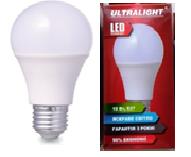 Светодиодная лампа Ultralight A60-7W-Y E27 3000К
