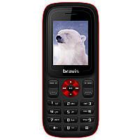 Простой кнопочный мобильный телефон на 2 сим карты Bravis C180 Jingle