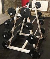 Набір з 8 штанг від 15 кг до 50 кг б / у (крок 5 кг)