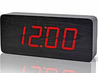 Электронные цифровые часы VST 865 подсветка Red, фото 1