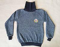 Детский свитер-гольф для мальчиков 5-8 лет Турция оптом