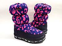 Недорого! Очень теплые зимние сапожки для девочки на овчине бренда Jong Golf (LяDABB) (р. 26-31)