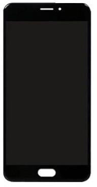 Дисплей (LCD) Meizu M5c (L710h) с сенсором чёрный