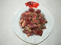 Сердце говяжье резаное (пареное)
