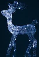 Декоративная фигура LED Олень акриловый 80 ламп 91 см