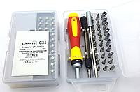 Набор сменных головок и бит с держателем и удлинителем 33шт.LTL10033