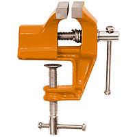 Тиски слесарные 75 мм крепление для стола  SPARTA