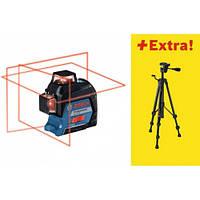 Нивелир (уровень) лазерный Bosch GLL 3-80 + BS 150