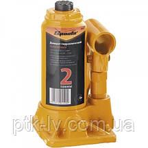 Домкрат бутылочный гидравлический 2 тонны Sparta