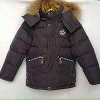 Зима 2017-2018 г! Зимняя куртка парка на мальчика 6-10 лет