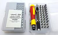 Набор сменных головок и бит с держателем и удлинителем 33шт.  LTL10034
