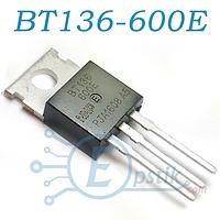 Симистор BT136-600E, 4А 600В 10мА TO-220