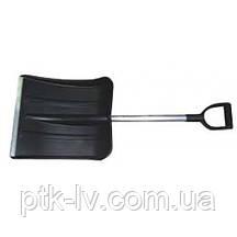Лопата автомобильная пластиковая 365х380х1000 мм Дельта