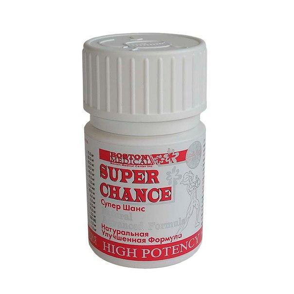 SUPER CHANCE® Супер шанс – высокая потенция, 10 капс. Оригинал!