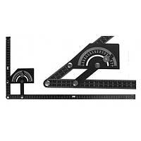 Угломер-квадрант 0-180 гр металлический 230-500 мм  FIT