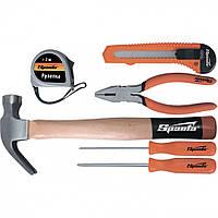 Набор инструмента бытовой 6 предметов  SPARTA