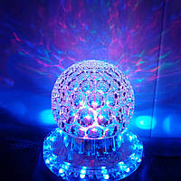 Диско лампа - куля обертається LED Magic Ball Light