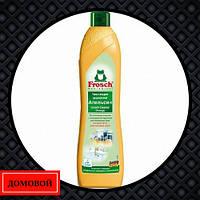 Средство для чистки кухни Frosch Апельсин абразивное молочко 500 мл (50713101)