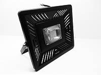 Светодиодный прожектор 50 Вт. LED SMD Slim + Линза