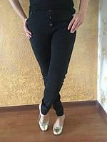 Женские джинсы Американки черные на болтах