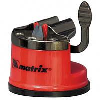 Приспособление для затачивания любого типа ножей металлическая направляющая крепление на присоске MATRIX