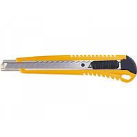 Нож 9 мм выдвижное лезвие металлическая направляющая SPARTA