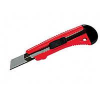 Нож 18 мм выдвижное лезвие металлическая направляющая MATRIX