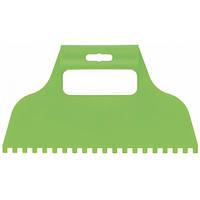 Шпатель для клея пластмассовый зубчатый 6х6 мм СИБРТЕХ