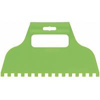 Шпатель для клея пластмассовый зубчатый 8х8 мм СИБРТЕХ