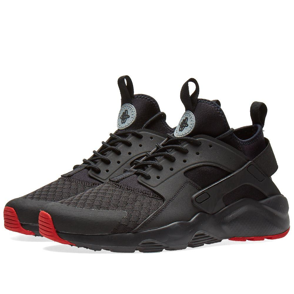 018fbca328bc Оригинальные кроссовки Nike Air Huarache Run Ultra Black, Metallic Silver -  Sport-Sneakers -