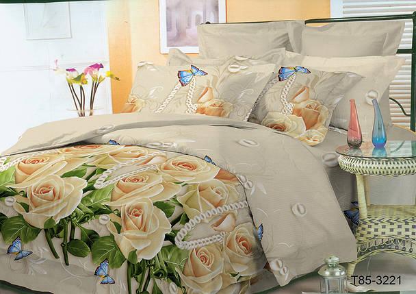 Ткань для постельного белья Полиэстер 85 T85-3221 (80м), фото 2