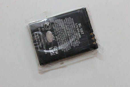 Аккумулятор Nokia BL-5BT, фото 2