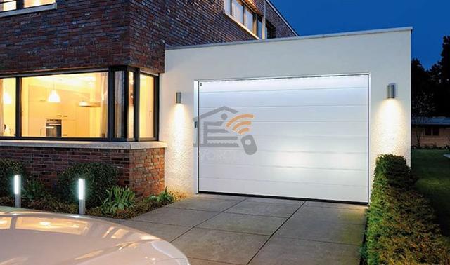 ворота гаражные механические цена