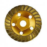 Чашка алмазная шлифовальная турбированная 125x22.2 мм  MTX