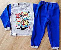 Детская тёплая пижама на байке Собачий Патруль на мальчика