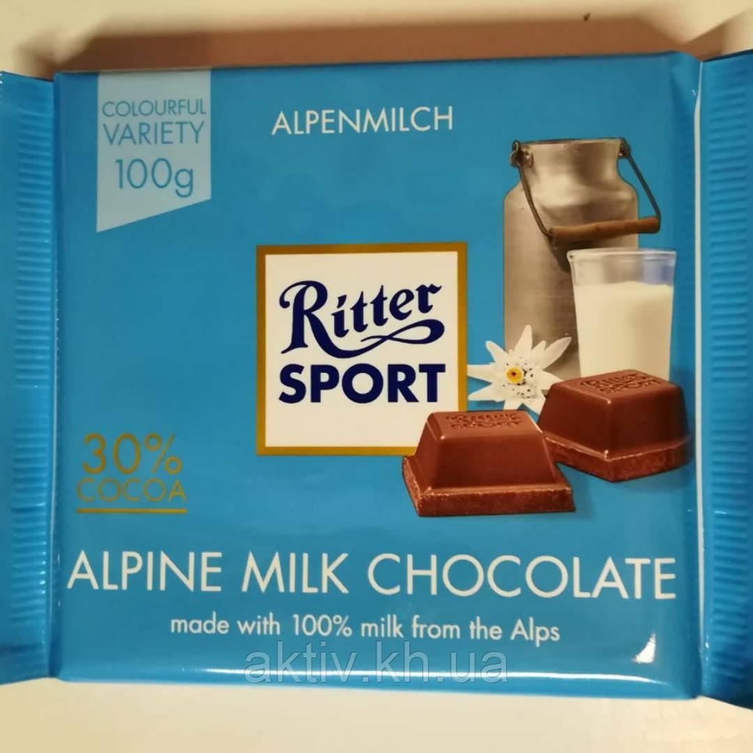 Ritter Sport Alpine Milk Chocolate 100 гр