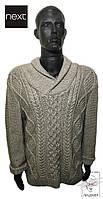 Мужской свитер Next серый джемпер пуловер p. M
