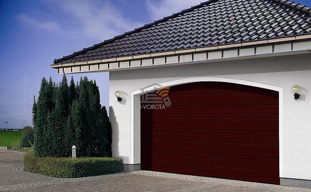 конструкция гаражных подъемных ворот