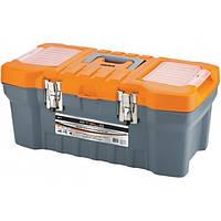 """Ящик для инструмента с металлическими замками 20"""" 220х260х510 мм  STELS"""