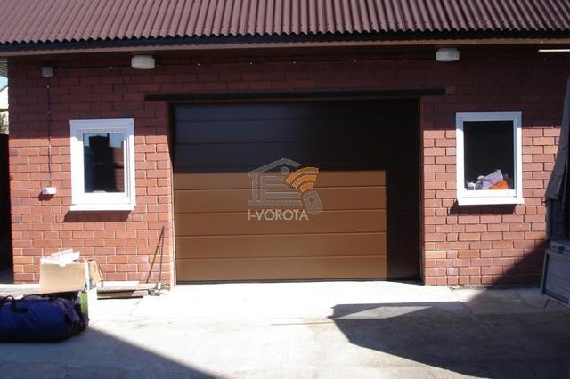 где купить гаражные секционные ворота