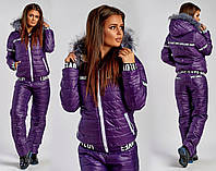 Женский лыжный спортивный костюм
