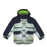 Куртка зимняя лыжная для мальчика разноцветная серая, Rodeo C&A, фото 1