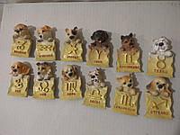 Магнит на холодильник собака (собачка) знак зодиака