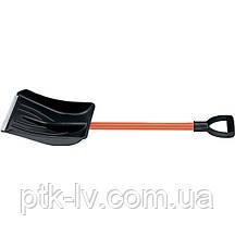 Лопата автомобильная пластиковая 260х320х890 мм алюминиевый черенок Stels