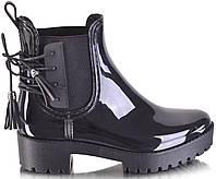 Женские ботинки резиновые