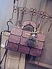 "Женская повседневная сумка-саквояж ""Агата Lilac"""