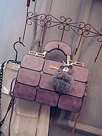 """Женская повседневная сумка-саквояж """"Агата Lilac"""", фото 1"""