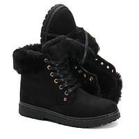 Женские ботинки на холодную зиму по доступной цене