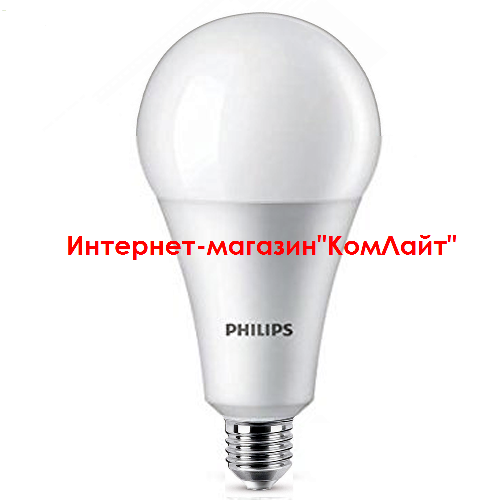 Лампа PHILIPS LEDBulb 27-200W E27 6500K 230V A110 (Китай)